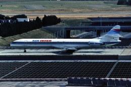 パール大山さんが、パリ オルリー空港で撮影したエールアンテール SE-210 Caravelleの航空フォト(飛行機 写真・画像)