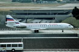 パール大山さんが、パリ オルリー空港で撮影したエア・チャーター SE-210 Caravelle 10B3 Super Bの航空フォト(飛行機 写真・画像)