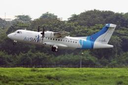 fox_samさんが、ニノイ・アキノ国際空港で撮影したエアスイフト ATR-42-600の航空フォト(飛行機 写真・画像)