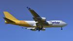 パンダさんが、成田国際空港で撮影したポーラーエアカーゴ 747-47UF/SCDの航空フォト(飛行機 写真・画像)