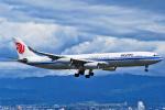 orbis001さんが、関西国際空港で撮影した中国国際航空 A340-313Xの航空フォト(飛行機 写真・画像)