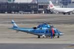 mild lifeさんが、伊丹空港で撮影した兵庫県警察 A109E Powerの航空フォト(飛行機 写真・画像)