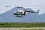 Gambardierさんが、岡南飛行場で撮影したヘリサービス 206B-3 JetRanger IIIの航空フォト(飛行機 写真・画像)