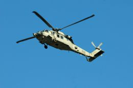 まいけるさんが、東京・浅草上空で撮影したアメリカ海軍 SH-60F Seahawk (S-70B-4)の航空フォト(飛行機 写真・画像)