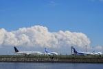 飛行機ゆうちゃんさんが、羽田空港で撮影した全日空 767-381/ERの航空フォト(飛行機 写真・画像)