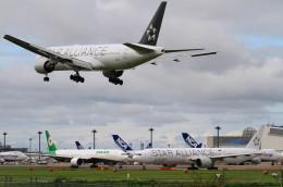 shibu03さんが、成田国際空港で撮影したユナイテッド航空 777-222/ERの航空フォト(飛行機 写真・画像)