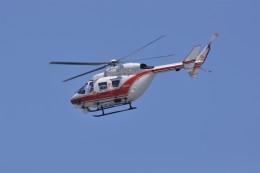 kumagorouさんが、仙台空港で撮影した東北エアサービス BK117B-2の航空フォト(飛行機 写真・画像)