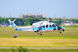 hidetsuguさんが、札幌飛行場で撮影した海上保安庁 S-76Dの航空フォト(飛行機 写真・画像)