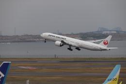 ゆうゆう@NGO さんが、羽田空港で撮影した日本航空 777-346/ERの航空フォト(飛行機 写真・画像)