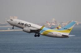 hanatomo735さんが、羽田空港で撮影したAIR DO 737-781の航空フォト(飛行機 写真・画像)