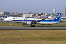 sumihan_2010さんが、伊丹空港で撮影した全日空 A321-272Nの航空フォト(飛行機 写真・画像)