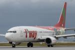 KANTO61さんが、那覇空港で撮影したティーウェイ航空 737-8HXの航空フォト(飛行機 写真・画像)
