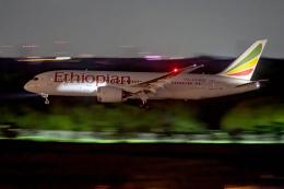 こうきさんが、成田国際空港で撮影したエチオピア航空 787-8 Dreamlinerの航空フォト(飛行機 写真・画像)