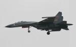 素快戦士さんが、HBTSで撮影した某国空軍 第7戦闘機師団 (河北省張家口) J-11Aの航空フォト(飛行機 写真・画像)