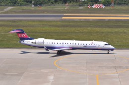 kumagorouさんが、仙台空港で撮影したボンバルディア CL-600-2C10 Regional Jet CRJ-702の航空フォト(飛行機 写真・画像)