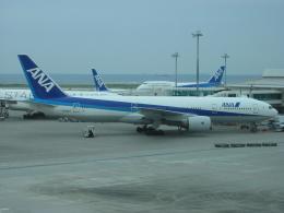 しかばねさんが、那覇空港で撮影した全日空 777-281の航空フォト(飛行機 写真・画像)