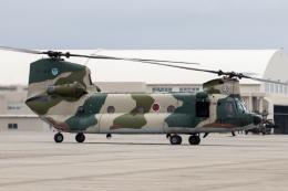 KANTO61さんが、那覇空港で撮影した航空自衛隊 CH-47J/LRの航空フォト(飛行機 写真・画像)