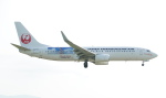 soucanflyさんが、福岡空港で撮影した日本トランスオーシャン航空 737-8Q3の航空フォト(飛行機 写真・画像)