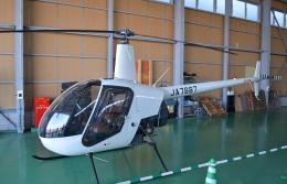 ブルーさんさんが、大阪ヘリポートで撮影した小川航空 R22 Betaの航空フォト(飛行機 写真・画像)