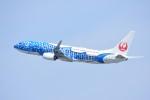 M.Tさんが、関西国際空港で撮影した日本トランスオーシャン航空 737-8Q3の航空フォト(飛行機 写真・画像)