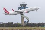 mameshibaさんが、シドニー国際空港で撮影したヴァージン・オーストラリア 737-8FEの航空フォト(飛行機 写真・画像)