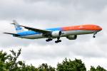 saoya_saodakeさんが、成田国際空港で撮影したKLMオランダ航空 777-306/ERの航空フォト(飛行機 写真・画像)