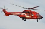 IL-18さんが、東京ヘリポートで撮影した東京消防庁航空隊 AS332L1の航空フォト(飛行機 写真・画像)