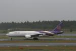 武田菱さんが、成田国際空港で撮影したタイ国際航空 777-2D7/ERの航空フォト(飛行機 写真・画像)