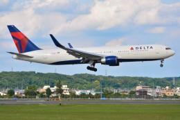 デルタおA330さんが、横田基地で撮影したデルタ航空 767-332/ERの航空フォト(飛行機 写真・画像)