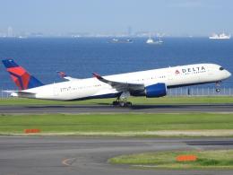 チャレンジャーさんが、羽田空港で撮影したデルタ航空 A350-941の航空フォト(飛行機 写真・画像)