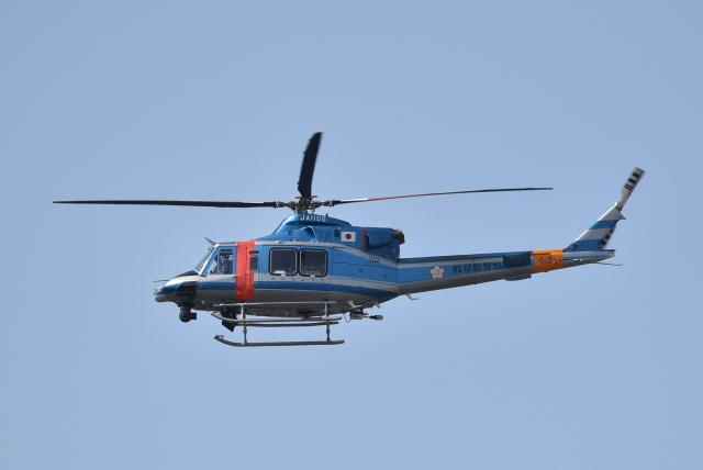のぶさん。さんが、岐阜基地で撮影した岐阜県警察 412EPの航空フォト(飛行機 写真・画像)