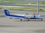 チャレンジャーさんが、羽田空港で撮影したANAウイングス DHC-8-402Q Dash 8の航空フォト(飛行機 写真・画像)