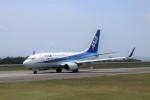 ヒロジーさんが、広島空港で撮影した全日空 737-781の航空フォト(飛行機 写真・画像)