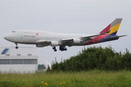Sharp Fukudaさんが、成田国際空港で撮影したアシアナ航空 747-419(BDSF)の航空フォト(飛行機 写真・画像)