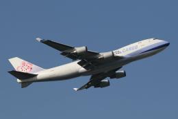 Sharp Fukudaさんが、成田国際空港で撮影したチャイナエアライン 747-409F/SCDの航空フォト(飛行機 写真・画像)