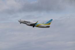 ゆうゆう@NGO さんが、中部国際空港で撮影したAIR DO 737-781の航空フォト(飛行機 写真・画像)