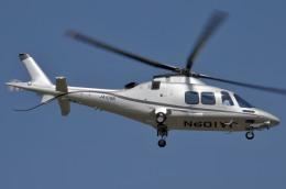 IL-18さんが、東京ヘリポートで撮影したノエビア AW109SP GrandNewの航空フォト(飛行機 写真・画像)