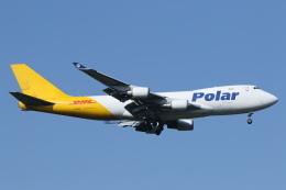 安芸あすかさんが、成田国際空港で撮影したポーラーエアカーゴ 747-46NF/SCDの航空フォト(飛行機 写真・画像)
