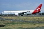 パール大山さんが、シドニー国際空港で撮影したカンタス航空 767-338/ERの航空フォト(飛行機 写真・画像)