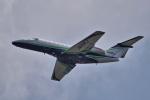 yabyanさんが、名古屋飛行場で撮影した川崎重工業 525C Citation CJ4の航空フォト(飛行機 写真・画像)