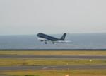 まひろさんが、中部国際空港で撮影したスターフライヤー A320-214の航空フォト(飛行機 写真・画像)