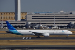 JA8037さんが、羽田空港で撮影したガルーダ・インドネシア航空 777-3U3/ERの航空フォト(飛行機 写真・画像)