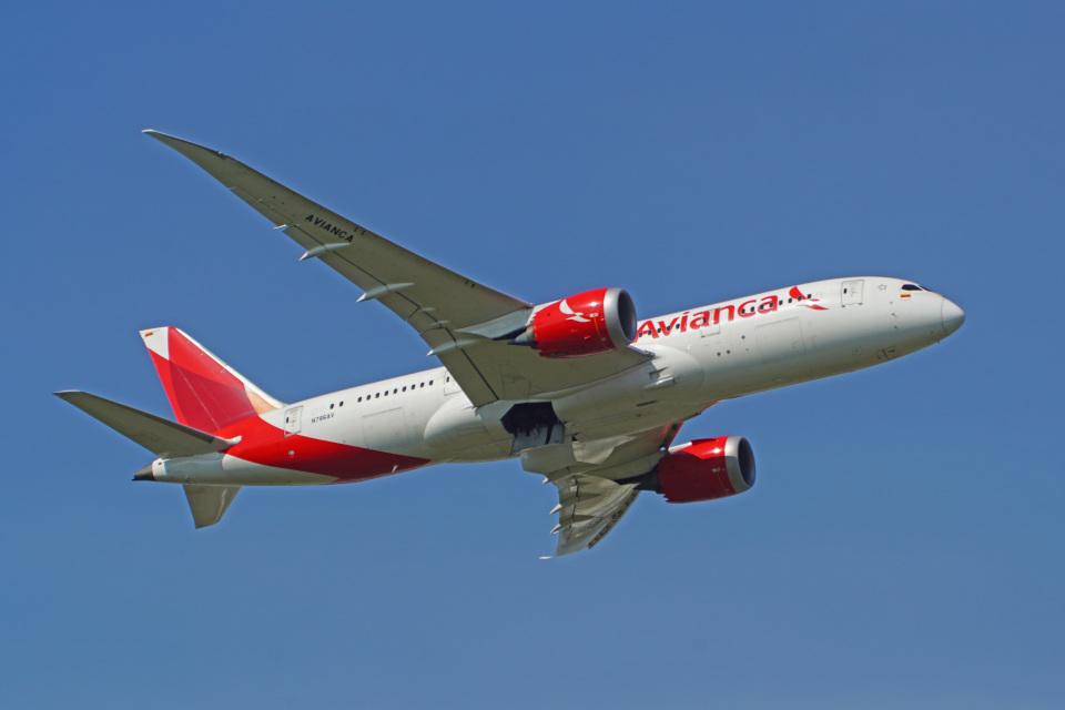 ちゃぽんさんのアビアンカ航空 Boeing 787-8 Dreamliner (N786AV) 航空フォト