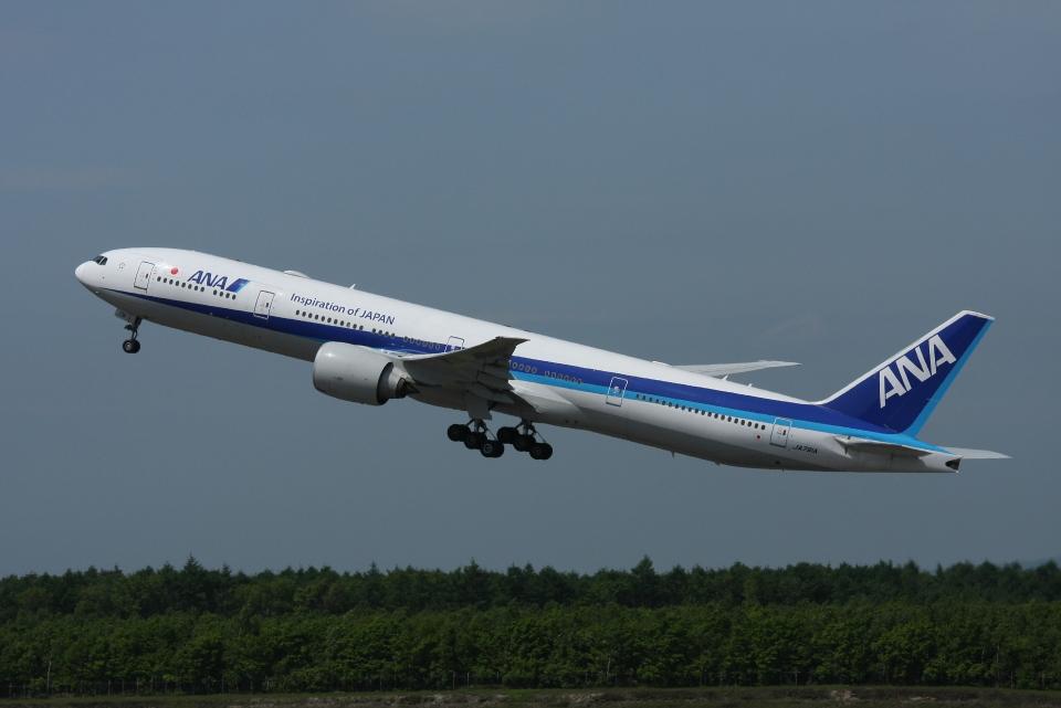 FIT01さんの全日空 Boeing 777-300 (JA791A) 航空フォト