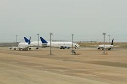 raiden0822さんが、中部国際空港で撮影したボーイング 747-4J6(LCF) Dreamlifterの航空フォト(飛行機 写真・画像)