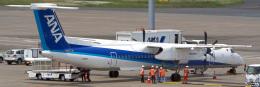 tkosadaさんが、羽田空港で撮影したANAウイングス DHC-8-402Q Dash 8の航空フォト(飛行機 写真・画像)