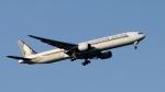 raichanさんが、成田国際空港で撮影したシンガポール航空 777-312の航空フォト(飛行機 写真・画像)