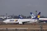 KAZFLYERさんが、成田国際空港で撮影したスカイマーク 737-86Nの航空フォト(飛行機 写真・画像)