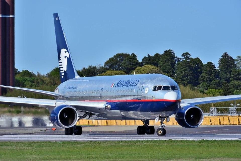 パール大山さんのアエロメヒコ航空 Boeing 767-200 (XA-TOJ) 航空フォト