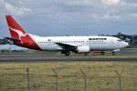 パール大山さんが、シドニー国際空港で撮影したカンタス航空 737-376の航空フォト(飛行機 写真・画像)